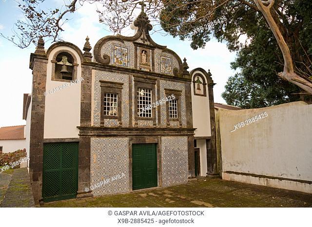 Convent of Caloura is a Portuguese 16th century convent located in the parish of Agua de Pau. Sao Miguel island, Azores islands, Portugal