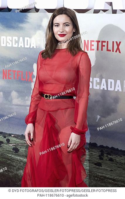 Ivana Vaquero at the premiere of the Netflix movie 'Emboscada Final / The Highwaymen' at the Cine Capitol. Madrid, 25.03.2019 | usage worldwide