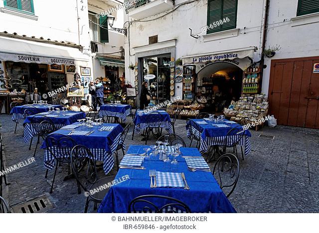 Amalfi coast Campania Italy Italia old town