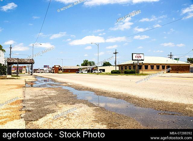 Oklahoma City, Historic Route 66, Oklahoma, United States