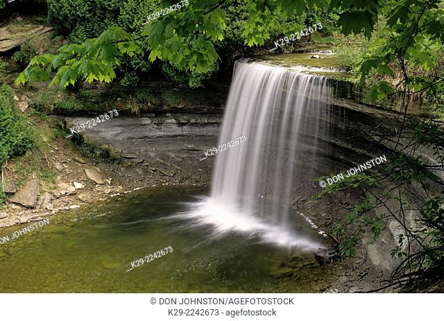 Bridal Veil Falls, Kagawong, Ontario, Canada