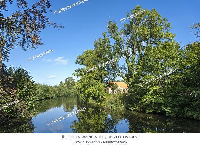 Landscape near Gut Güldenstein, Harmsdorf, Baltic Sea, Schleswig-Holstein, Germany, Europe