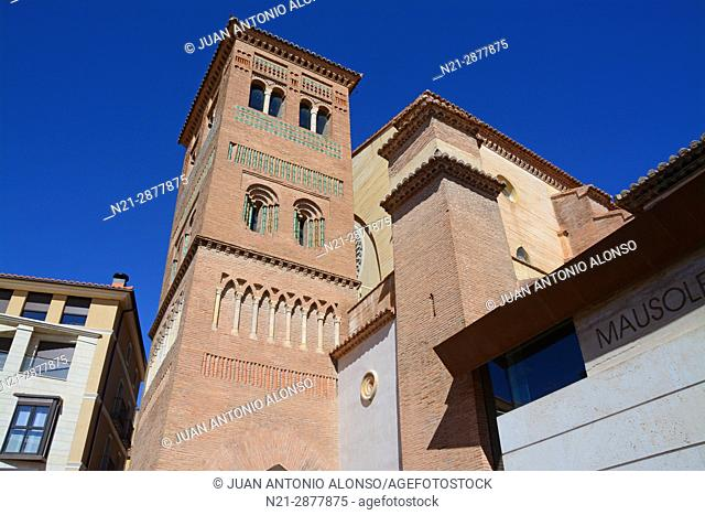 Tower of San Pedro Church. Teruel, Aragón, Spain, Europe
