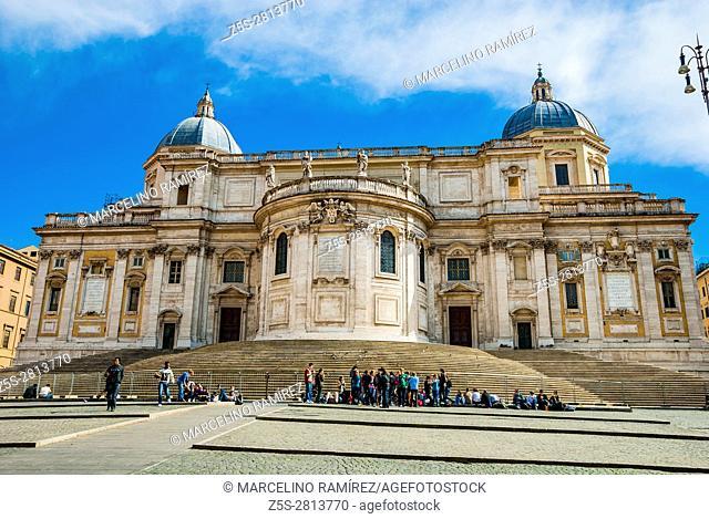 Basilica di Santa Maria Maggiore - Basilica of Saint Mary Major - or church of Santa Maria Maggiore. Rome, Lazio, Italy, Europe