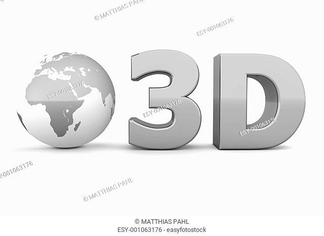 Global 3D - Metallic Grey