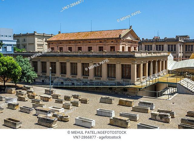 El Museo y Necrópolis Paleocristians (Paleochristian Museum and Necropolis), Tarragona, Catalonia, Spain