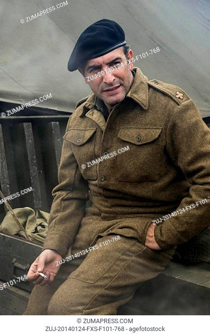 Jan. 24, 2014 - Hollywood, USA - THE MONUMENTS MEN (2014).JEAN DUJARDIN.GEORGE CLOONEY (DIR).MOVIESTORE COLLECTION LTD. (Credit Image: © face to...