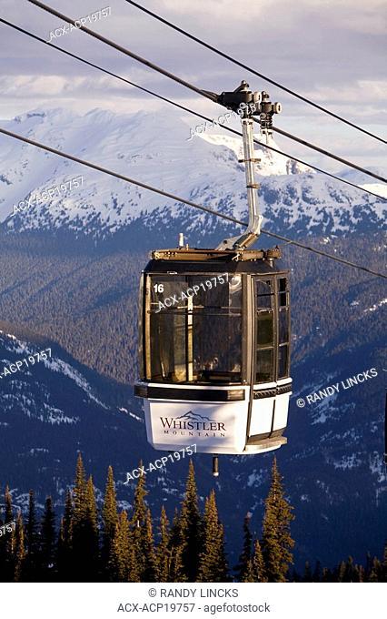 Gondola, Whistler Mountain, British Columbia, Canada