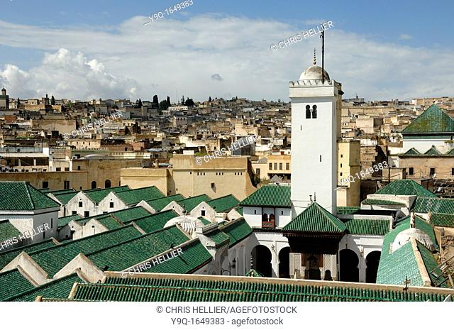 Kairaouine Mosque and Islamic University founded in 859 Fez Morocco