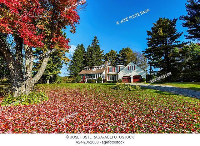 USA ,Massachusetts, Berckshire District, Near Lenox City , House