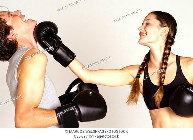 funny fight