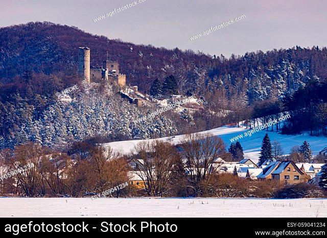 The Brandenburg Castle in the Werra Valley at Eisenach