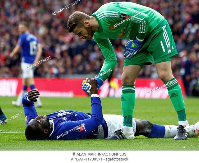 2016 Emirates FA Cup Semi Final Everton v Manchester United Apr 23rd. 23.04.2016. Wembley Stadium, London, England. Emirates FA Cup Semi Final