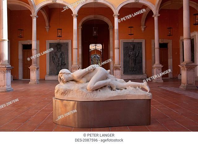 Statue By Jes