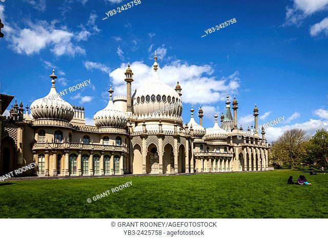 The Royal Pavilion, Brighton, Sussex, UK