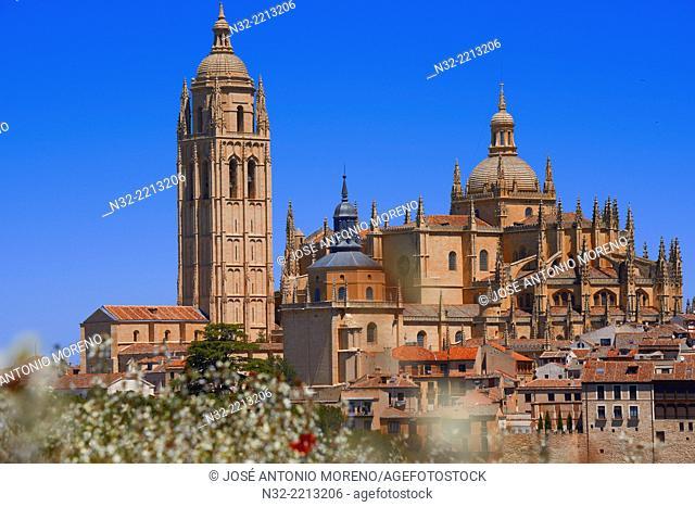 Cathedral, Segovia, Castilla-Leon, Spain