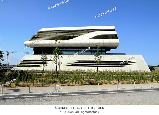 Pierresvives Sports Centre by Zaha Hadid Montpellier France