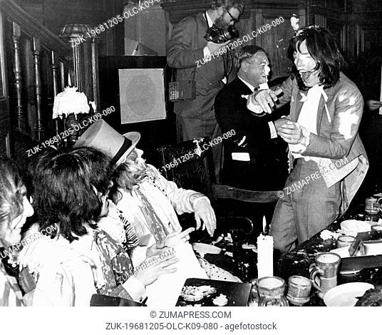 Dec. 5, 1968 - London, England, U.K. - Rolling Stones frontman ...