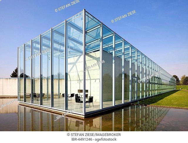 Art Museum and Langen Foundation, architect Tadao Ando, ??Neuss, Lower Rhine, North Rhine-Westphalia, Germany