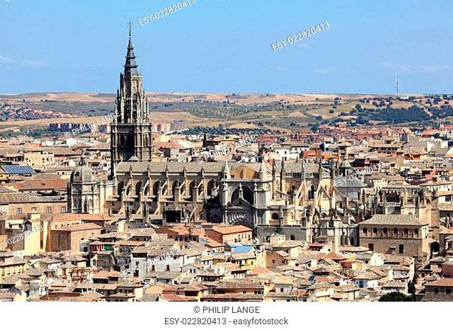 Cathedral of Saint Mary of Toledo. Castilla-La Mancha, Spain