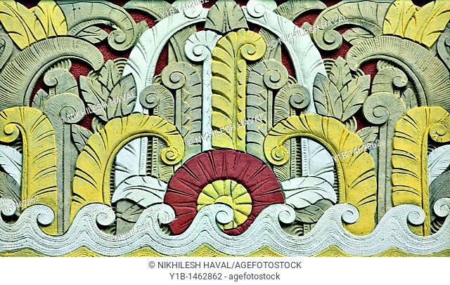 Art deco detail, South Beach, Miami