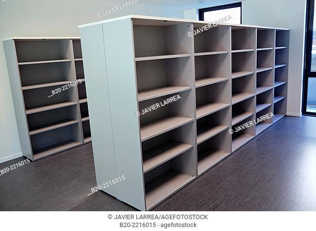 Shelves. Cabinet. Office. Science and Technology Park of Bizkaia. Zamudio. Bizkaia. Basque Country. Spain
