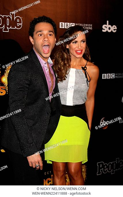 Dancing with the Stars 10 Year Anniversary Party Featuring: Corbin Bleu, Karina Smirnoff Where: West Hollywood, California