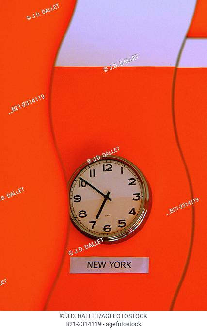 Time at New York