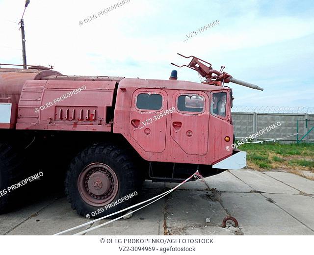 Aeronautical fire fighting equipment