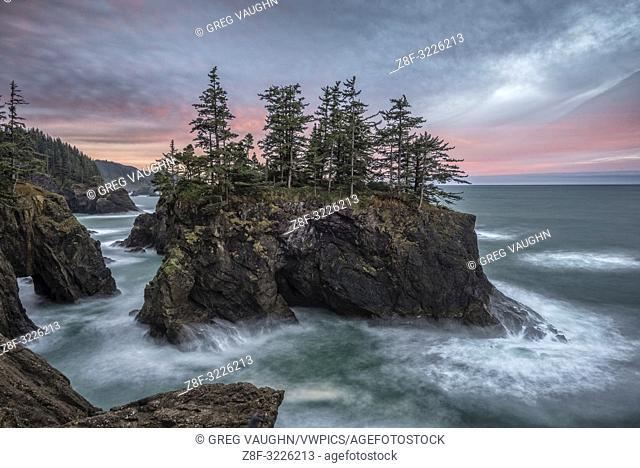 Natural Bridges State Wayside, Southern Oregon Coast