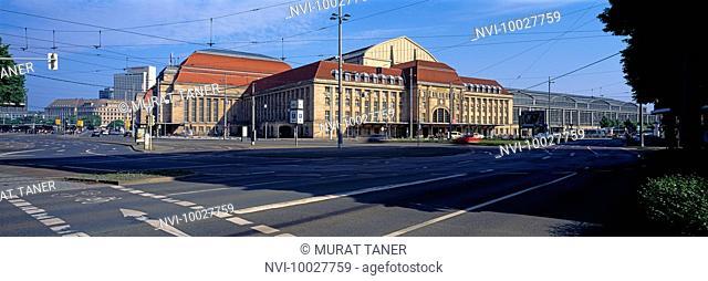 Leipzig Hauptbahnhof, Saxony, Germany