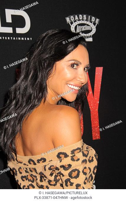 """Naya Rivera 09/19/2019 The Los Angeles Premiere of """"""""JUDY"""""""" held at the Samuel Goldwyn Theater in Beverly Hills, CA. Photo by I"""