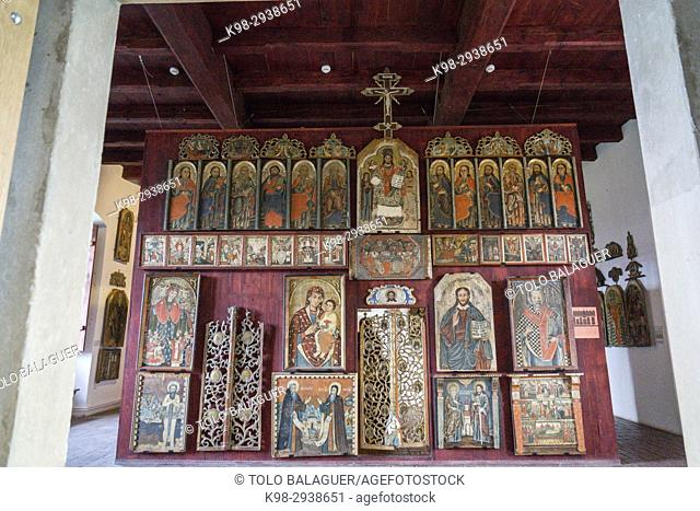 museo de los iconos, castillo Real, Sanok, Podkarpackie Voivodeship, Poland, Eastern Europe