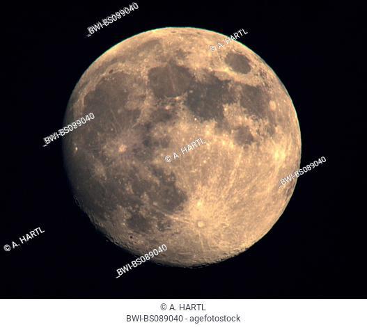 full moon, Germany, Bavaria