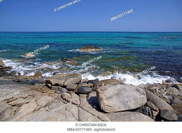 Italy, Sardinia, East coast, Castiadas, Sant'Elmo, Costa Rei