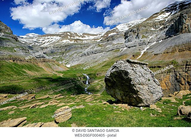 Spain, Ordesa National Park, rock formation