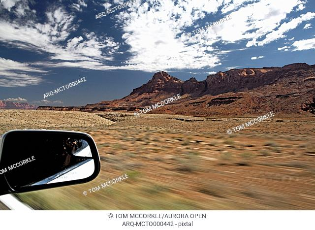 Entering into Marble Canyon in Arizona
