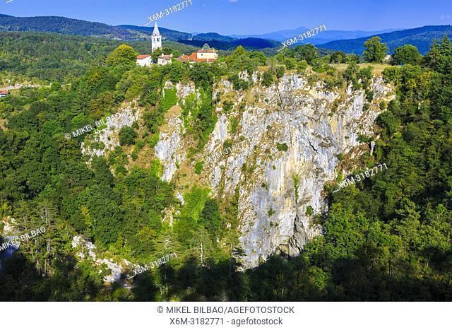 Velika Dolina. Skocjan Caves area. Inner Carniola region. Slovenia, Europe