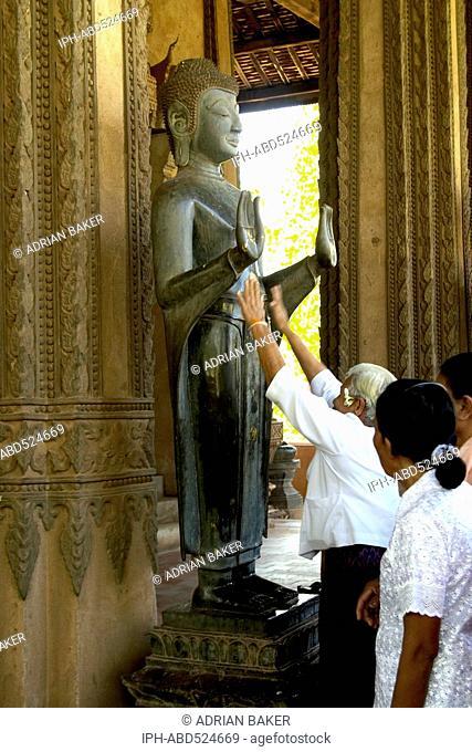 Laos Vientiane Wat Phra Keo