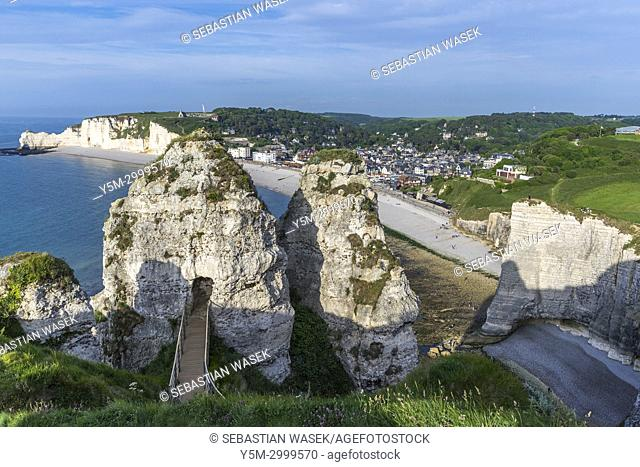 Étretat, Seine-Maritime department, Normandie, France, Europe