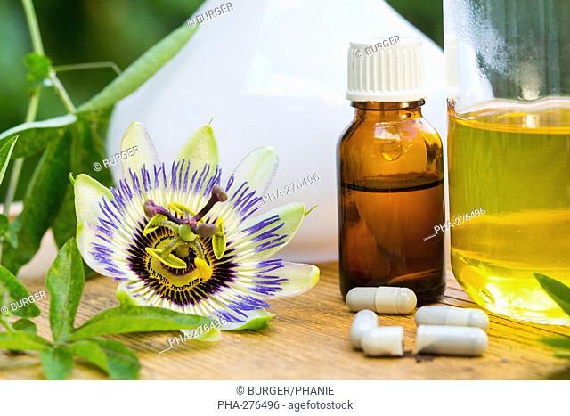 Essential oil of passiflora
