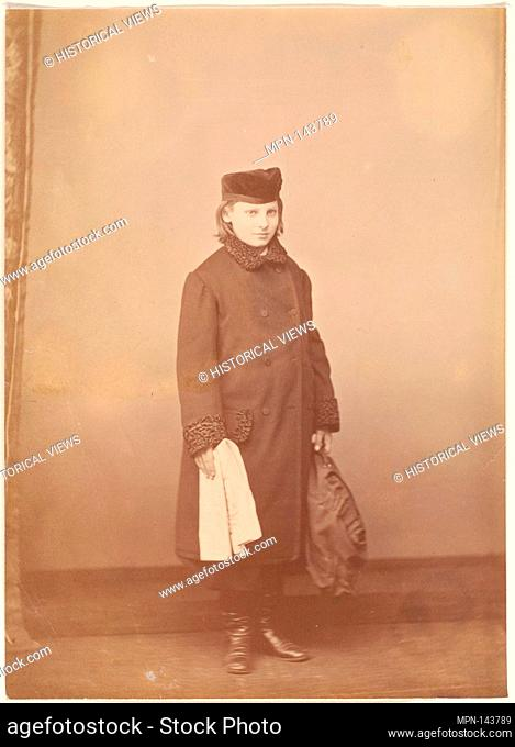 Le Grand Russe. Artist: Pierre-Louis Pierson (French, 1822-1913); Date: 1860s; Medium: Albumen silver print from glass negative; Dimensions: 9.8 x 13