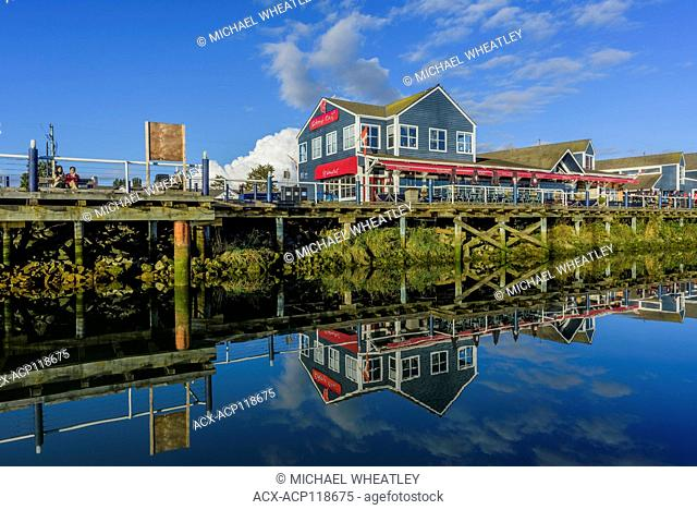 Seafood restaurant, Steveston Village, Richmond, British Columbia, Canada