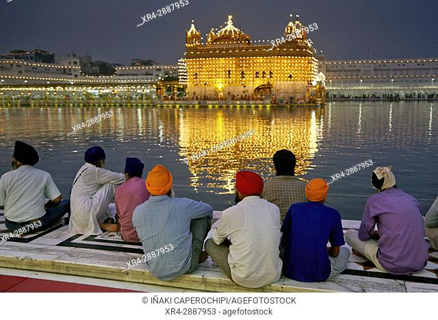 Harmandir Sahib, Golden Temple, Amritsar, Punyab, India