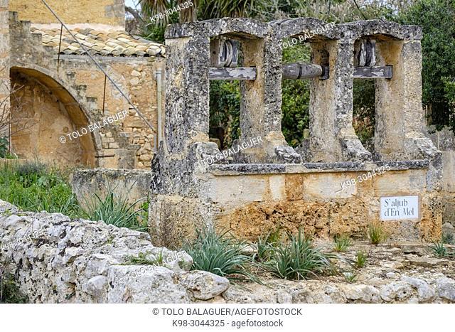 aljibe, Aljub d`en Mel, Cas Concos des Cavaller, Felanitx, Mallorca, balearic islands, Spain