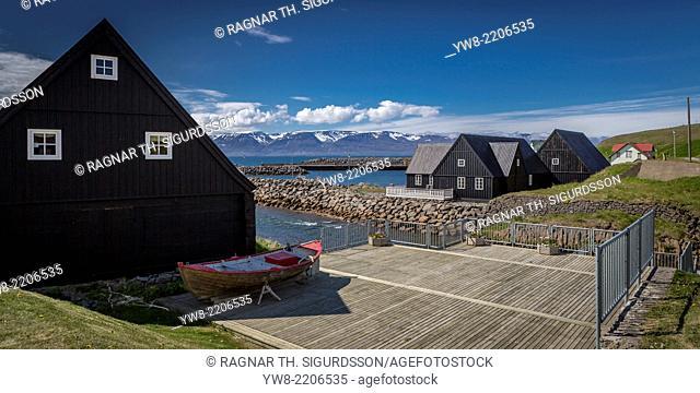 Vesturfarasetrid museum, (The Icelandic Emigration Centre) Hofsos, Iceland