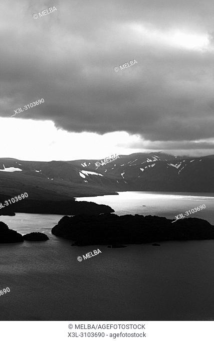 Kurile lake, Kamchatka. Siberia. Russia