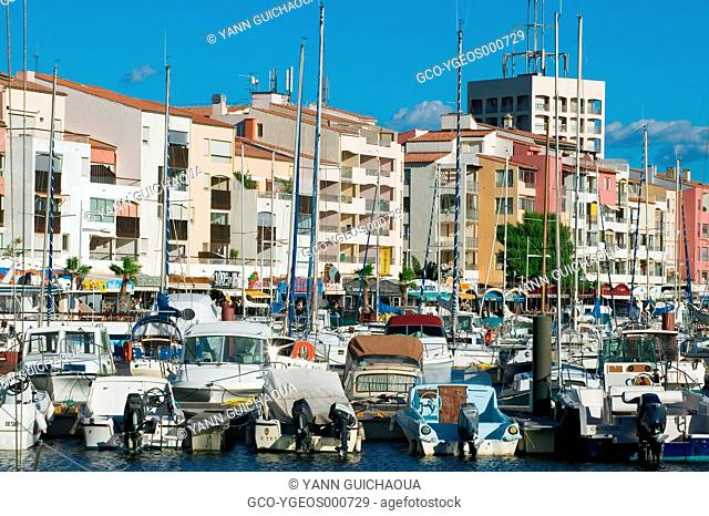 Cap D'Agde, Herault, Languedoc-Roussillon, France