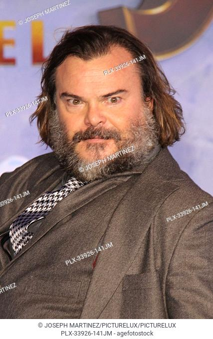"""Jack Black at Sony Pictures' """"""""Jumanji: The Next Level"""""""" World Premiere held at the TCL Chinese Theater in Hollywood, CA, December 9, 2019"""