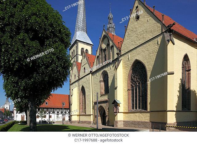 Germany, Lemgo, Lipper Bergland, Lippisches Bergland, Weserbergland, Teutoburg Forest / Egge Hills Nature Park, East Westphalia, North Rhine-Westphalia, NRW